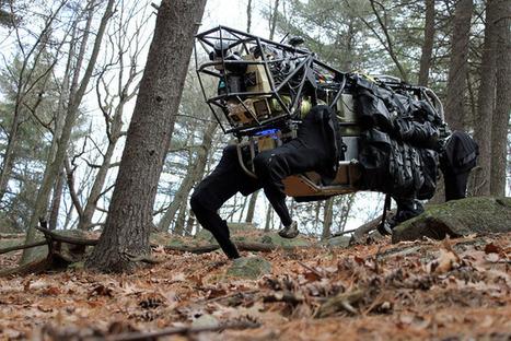 Meet Boston Dynamics' LS3 – the latest robotic war machine! | Warehouse Automation | Scoop.it