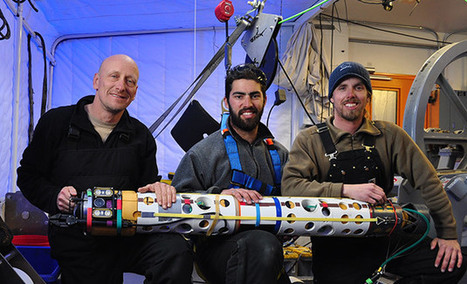 Robot finds fish beneath Antarctic ice, could be used to explore Europa | Heron | Scoop.it