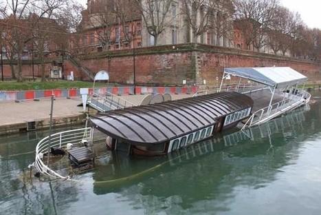 La péniche Le Tenace, coulée en 2013, va faire son grand retour à Toulouse | Canal du midi (et Cie) | Scoop.it