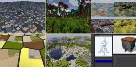 sceelix, un programa para crear ambientes 3D para juegos y Realidad virtual | Recull diari | Scoop.it