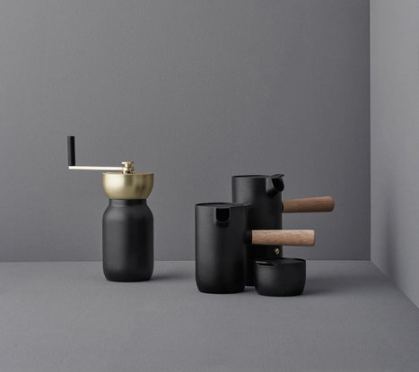 Collar Brings Back the Ritual of Coffee Brewing - Design Milk | CLOVER ENTERPRISES ''THE ENTERTAINMENT OF CHOICE'' | Scoop.it