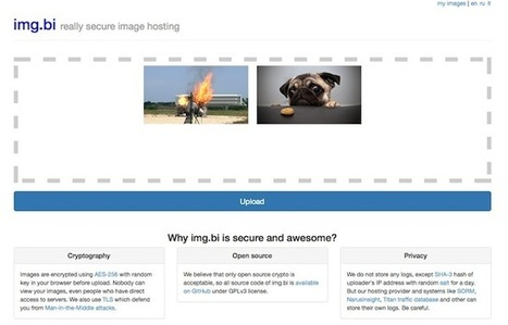 Hébergez et protégez vos images en ligne | Time to Learn | Scoop.it