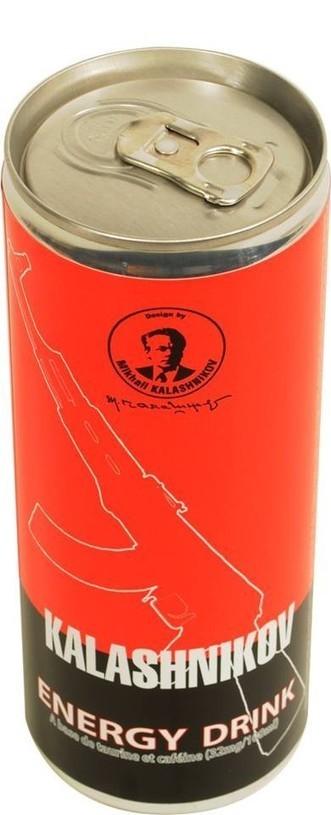 Kalashnikov Energy Drink - Boisson énergisante | Airsoft Rider Shop | Scoop.it