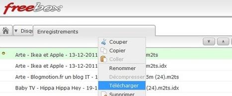 Envoyer des fichiers à distance sur la Freebox v6 (révolution) | Time to Learn | Scoop.it