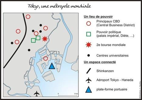 Tokyo dans la mégalopole japonaise - L'Atelier d'HG Sempai | Les profs bloguent | Scoop.it