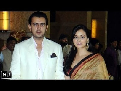 Dia Mirza Officially Engaged To Sahil Sangha - | latestvideo news | Scoop.it