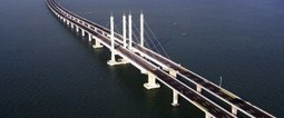 Jiaozhou Bay Bridge: El puente que une Qingdao con el distrito de Huangdao en China | VIM | Scoop.it