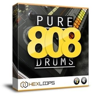 Pure 808 Drum Samples - 808 Drum Kit | Hex Loops | FL Studio Sound Packs - Hex Loops | Scoop.it