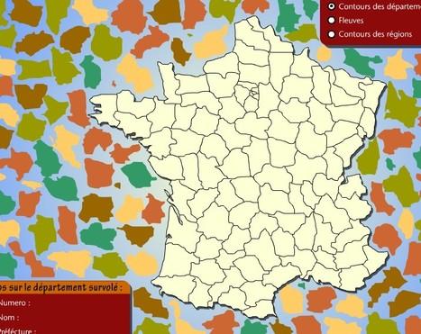 Les départements | Jeux proposés au CDI | Scoop.it