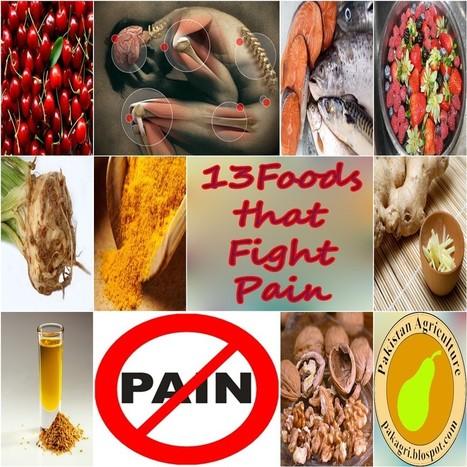 13 foods that fight pain | Paz y bienestar interior para un Mundo Mejor | Scoop.it