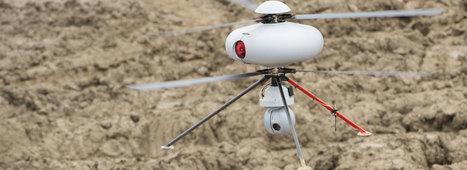 Trois entreprises anglaises développent un rayon pour geler les drones | 694028 | Scoop.it