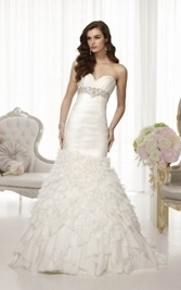 Strapless Wedding Dresses - theLuckyBridal.com | Lace Wedding Dresses | Scoop.it