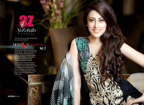 Monsoon Eid Collection 2013-2014 | Best Embroidered Dresses for Lawn ~ Shee Styles Blogger | Collection of Pakistani and Indian Dresses | Scoop.it