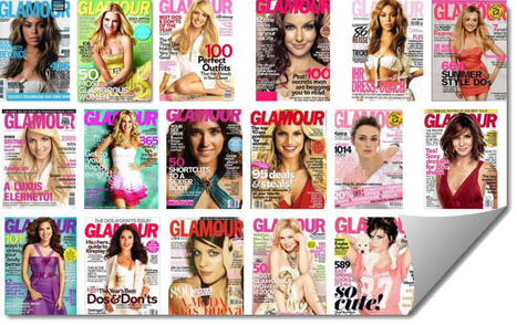 Glamour magazine uses QR codes in print ads to successfully achieve 512,339 scans | QRdressCode | Scoop.it