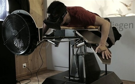 """Birdly"" Augmented Reality Machine Lets You Fly Like A Bird 