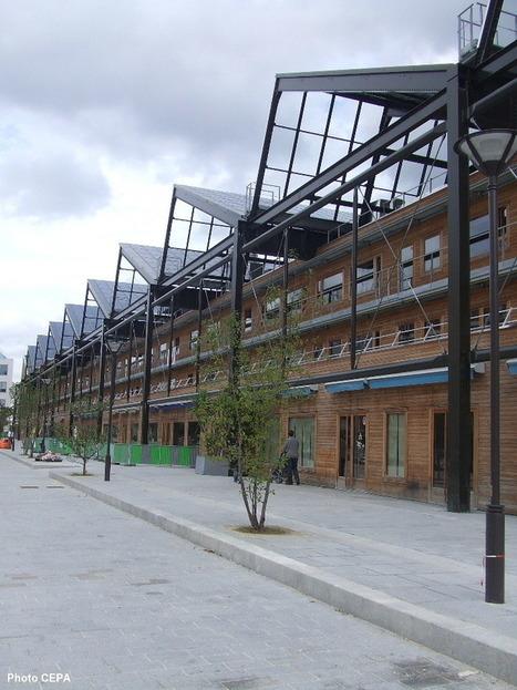 Les dernières nouvelles de Pajol: bibliothèque Vaclav Havel et auberge de jeunesse Yves Robert | The Architecture of the City | Scoop.it