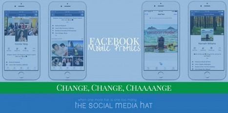 How To Update Your New Mobile Facebook Profile | Social Media Products and Tools | Scoop.it