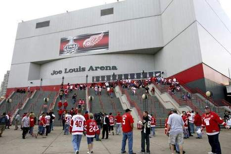 Red Wing owners pledge $12.2M to clear up Joe Louis Arena issues - The Detroit News | Sports Facility Management.4472016 | Scoop.it
