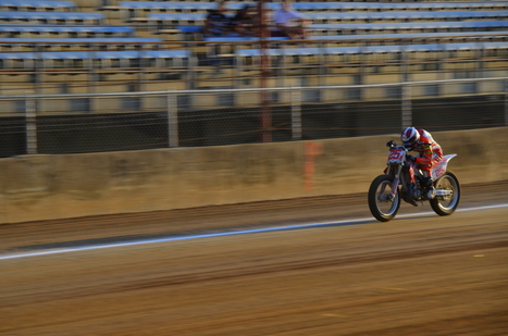 IndyGP - Saturday Night Flat Track Races | Vicki's View Photo Gallery | Ductalk Ducati News | Scoop.it