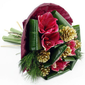 Christmas Flower Bouquets Design from London, UK | Same Day Flowers Delivery in London | Scoop.it