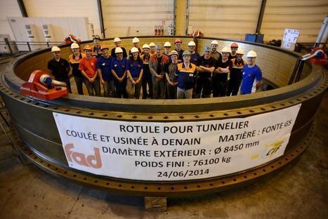 Des pièces fabriquées à Denain… pour un tunnel maritime à Hong-Kong | Actu de l'industrie | Scoop.it