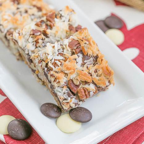 Seven Layer Bars | coconut bar recipe | Food | Scoop.it