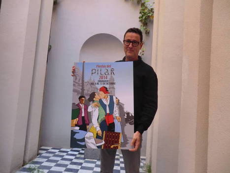El besico  será la imagen del cartel de las Fiestas del Pilar 2014 | Fiestas en Aragón | Scoop.it