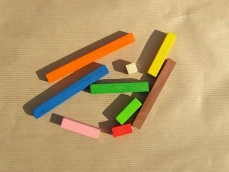Regletas Cuisenaire, la primera vez - Tocamates - matemáticas y creatividad | Método ABN | Scoop.it