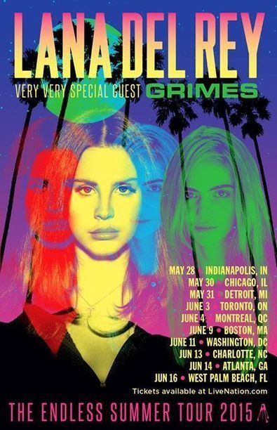 Grimes will be also joining Lana Del Rey on her upcoming Endless Summer Tour. Fi... | Lana Del Rey - Lizzy Grant | Scoop.it