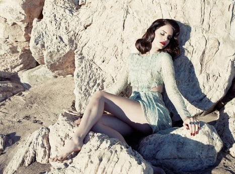 Lana Del Rey picture post   Lana Del Rey - Lizzy Grant   Scoop.it