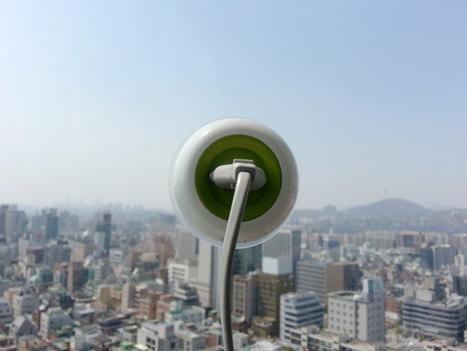 La capsule qui recharge votre portable sur les baies vitrées | Economie Responsable et Consommation Collaborative | Scoop.it