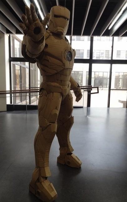 Artista crea asombrosos traje de Iron Man con cartón | design | Scoop.it
