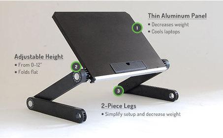 WorkEZ Light   Adjustable Ergonomic Stand Up Desk   Scoop.it