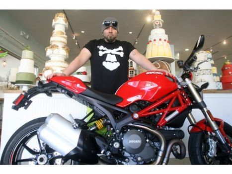 'Ace of Cakes' rides as hard as he bakes | Food | Scoop.it