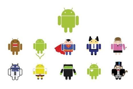 La storia di un logo: ovviamente quello di Android | Dai bagni ... - HDblog (Blog) | Web & Graphic Design | Scoop.it