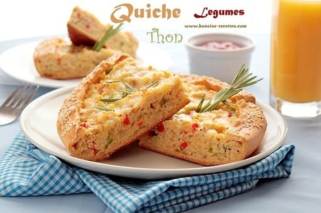 Quiche thon/légumes   cuisine algerienne et recettes de ramadan   Scoop.it