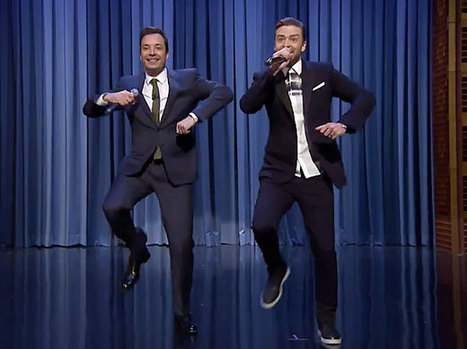 Jimmy Fallon and Justin Timberlake bring 'History of Rap 5′ to 'Tonight Show' | EW.com | Else than Hip-Hop | Scoop.it