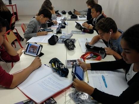Classe mobile à Pont Saint Esprit | éducation numérique | Scoop.it
