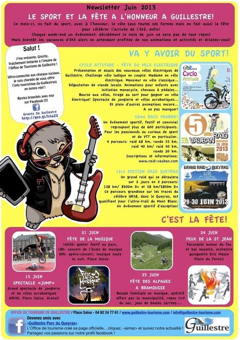 Newsletter OT Guillestre - juin 2013 | Guillestre Parc du Queyras | Scoop.it
