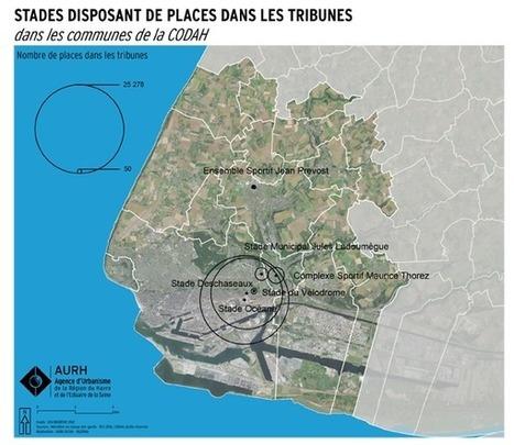 Le Havre - Les équipements sportifs dans la Codah en 2016, chiffres clés et cartes | Dernières publications des agences d'urbanisme | Scoop.it
