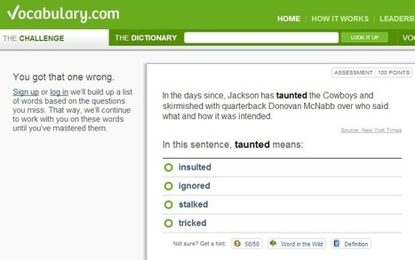 A Vocabulary Site Shows How to Tailor Online Education | WiredAcademic | EdRadar | Scoop.it