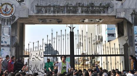 Port-Saïd de nouveau paralysée par des grèves | Égypt-actus | Scoop.it