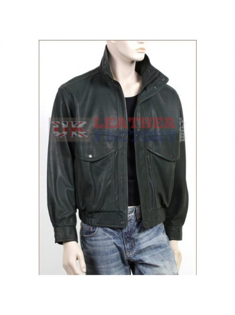 Blouson Bomber Leather Jacket | Leather Jackets | Scoop.it