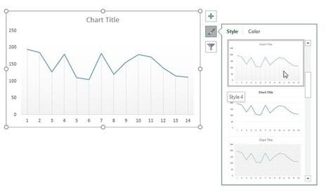 Excel : Créer des lignes de connexion dans un graphique en ligne – Le CFO masqué | MSExcel | Scoop.it