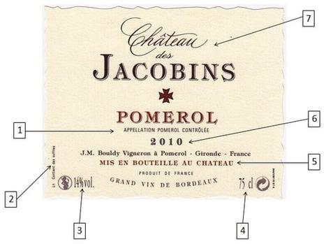 Etiquettes de vin : comment les décrypter ? - Magazine du vin - Mon Vigneron | Actualités du Vin | Scoop.it
