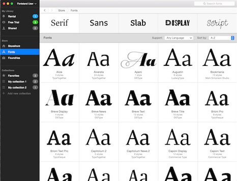This 'iTunes Of Fonts' Allows You To Try Fonts For Free Or Rent Them Cheaper | Creative Feeds | Scoop.it