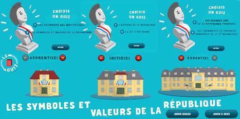 Quiz 10-15ans (1 ou 2 joueurs) Les symboles et #ValeursdelaRepublique via @gouvernementFR | Français Langue étrangère | Scoop.it