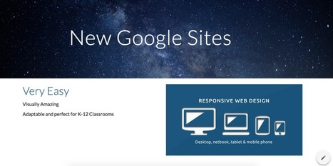 A Brief Introduction to the New Google Sites via Eric Hansen | 21st Century Learning | Scoop.it