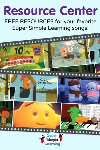 Free Resources for The Alphabet Chant from Super Simple Learning | Designing lessons for EFL classes | Scoop.it