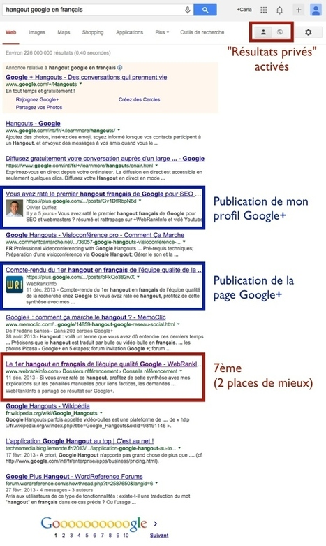 Comment améliorer son référencement naturel avec Google+ | Time to Learn | Scoop.it